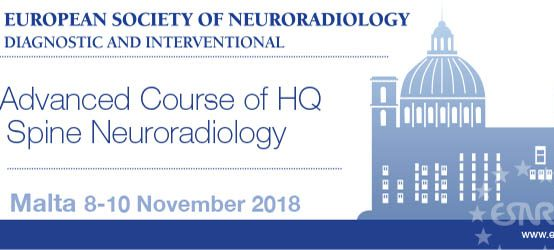 ESNR – 9th Advanced Course of HQ in Spine Neuroradiology